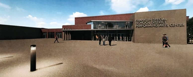 New Franklin Special School District Performing Arts Center could be complete by 2021
